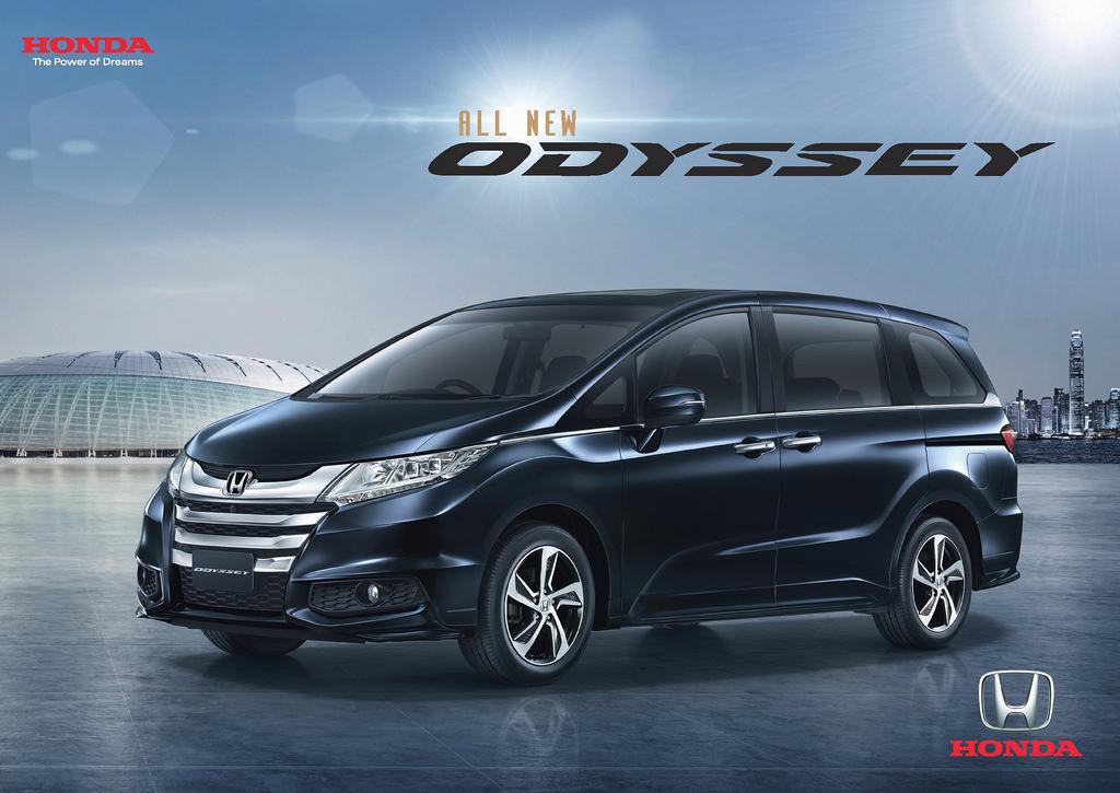 Honda Odyssey First Class